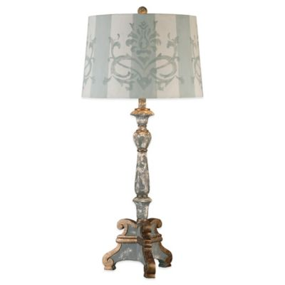 Uttermost Trimonte Table Lamp in Grey