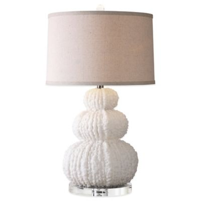 Ivory with Linen Shade