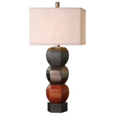 Uttermost Sedalia Multicolor Table Lamp with Linen Shade