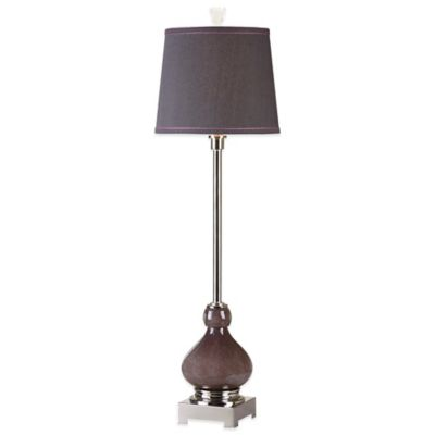 Purple Buffet Lamp