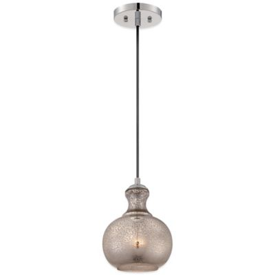 Sonia Ceiling-Mount Cord Hung Mini Pendant in Artica