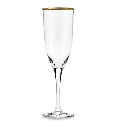 Noritake® Troy Crystal 8-Ounce Toasting Flute