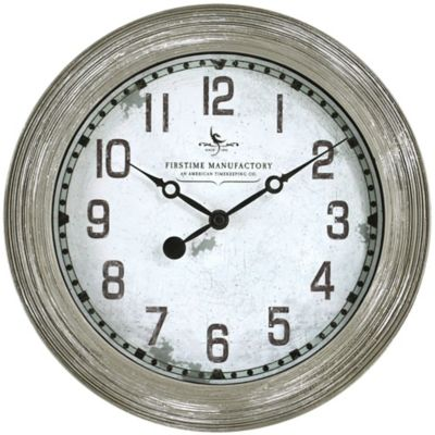 FirsTime® Driftwood Wall Clock