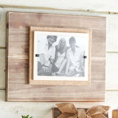 Mud Pie® Deluxe Pine 5-Inch x 7-Inch Picture Frame