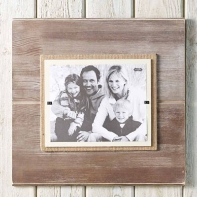 Mud Pie® Deluxe Pine 8-Inch x 10-Inch Picture Frame