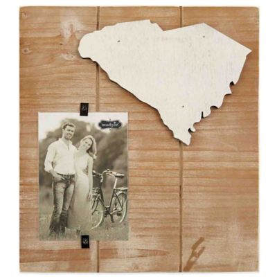 Mud Pie® South Carolina 4-Inch x 6-Inch Wood Picture Frame