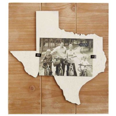 Mud Pie® Texas 4-Inch x 6-Inch Wood Picture Frame