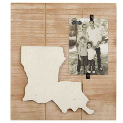 Mud Pie® Louisiana 4-Inch x 6-Inch Wood Picture Frame