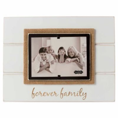 "Mud Pie® ""Forever Family"" 5-Inch x 7-Inch Picture Frame"