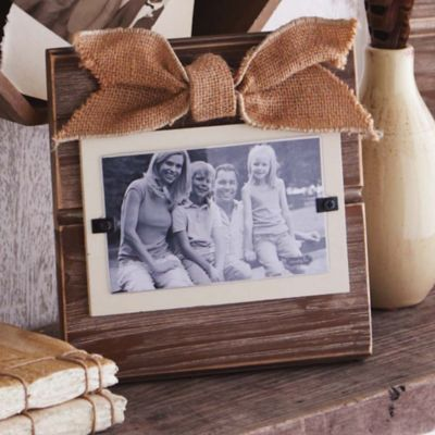 Mud Pie® Natural 3-Inch x 5-Inch Picture Frame