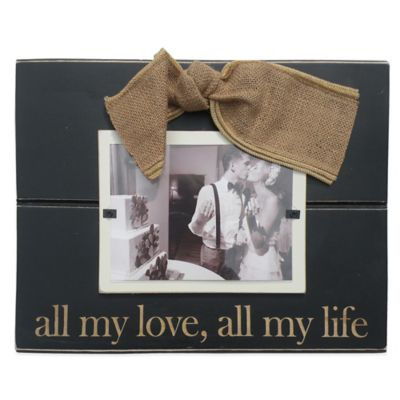 "Mud Pie® ""All My Love"" 5-Inch x 7-Inch Picture Frame"