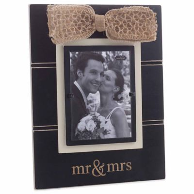 "Mud Pie® ""Mr. & Mrs."" 5-Inch x 7-Inch Picture Frame"