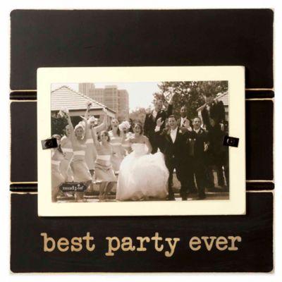 6 Black Wedding Frame