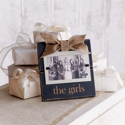 "Mud Pie® ""The Girls"" 3-Inch x 5-Inch Picture Frame"