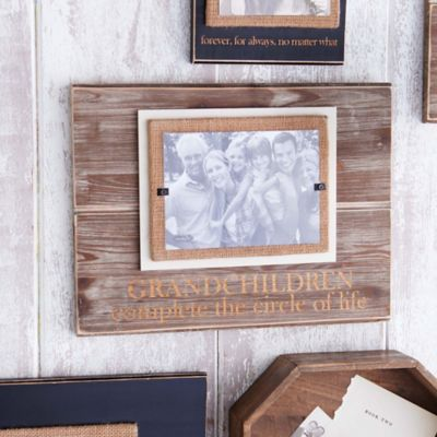 "Mud Pie ""Circle of Life"" 5-Inch x 7-Inch Picture Frame"