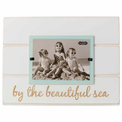 "Mud Pie® ""By the Beautiful Sea"" 5-Inch x 7-Inch Picture Frame"