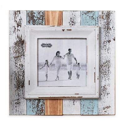 Mud Pie® Square Beach 5-Inch x 5-Inch Photo Picture Frame