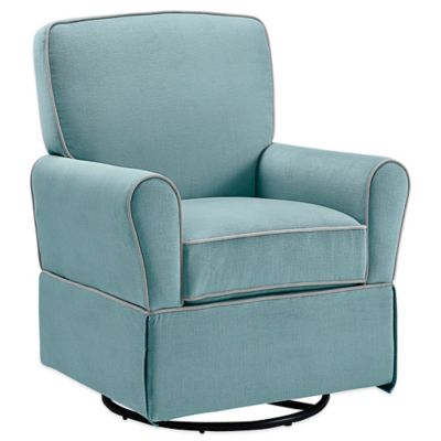Bebe Confort® Milan Swivel Glider in Aqua Blue