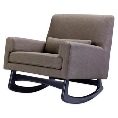 Nursery Works Sleepytime Rocker in Hazelnut with Espresso Legs