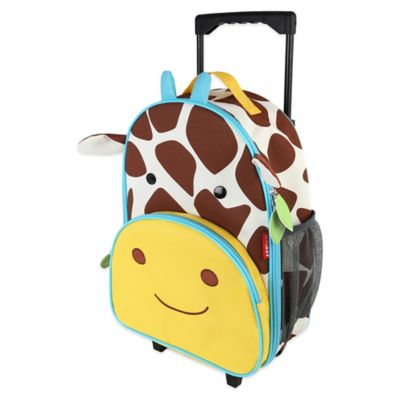 SKIP*HOP® Zoo Little Kid Rolling Luggage in Giraffe