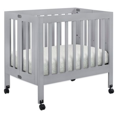 Cribs > Babyletto Origami Mini Crib in Grey