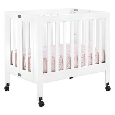 Cribs > Babyletto Origami Mini Crib in White