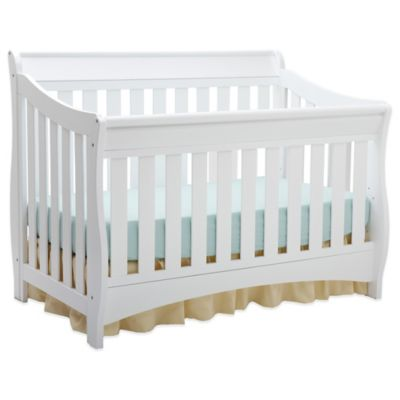 Delta™ Bentley S Series 4-in-1 Convertible Crib in White