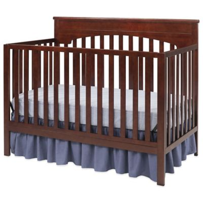 Delta Layla 4-in-1 Convertible Crib in Chocolate