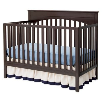 Delta Layla 4-in-1 Convertible Crib in Dark Chocolate
