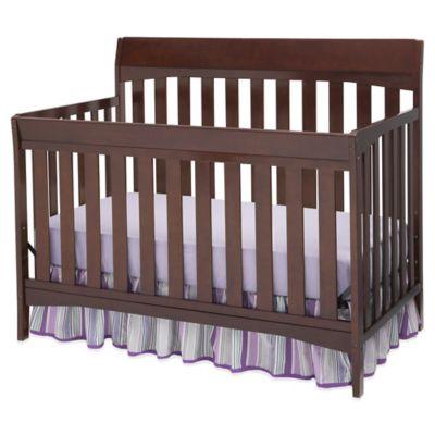 Delta Remi 4-in-1 Convertible Crib in Chocolate