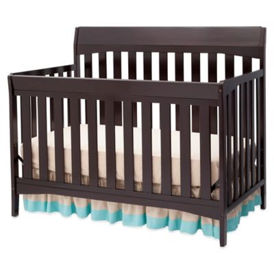 Delta Remi 4-in-1 Convertible Crib in Dark Chocolate