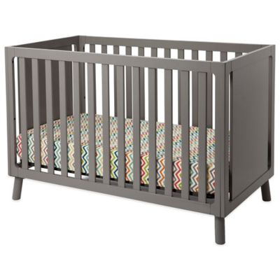 Delta Manhattan 3-in-1 Convertible Crib in Grey