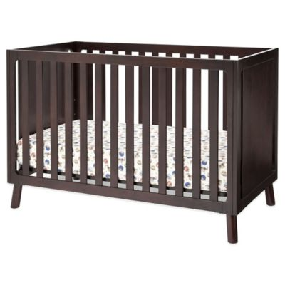 Delta Manhattan 3-in-1 Convertible Crib in Dark Chocolate