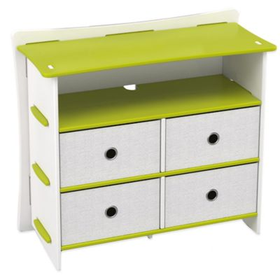 Legare® Frog 5-Shelf Tool-Free Dresser in Lime