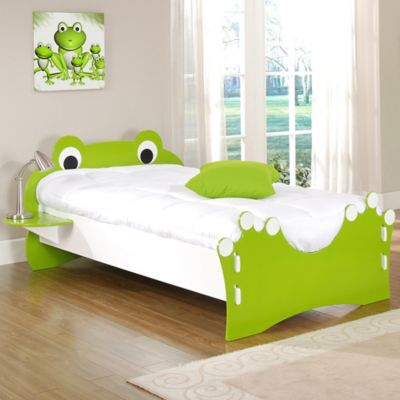 Legare® Frog Twin Bed in Lime