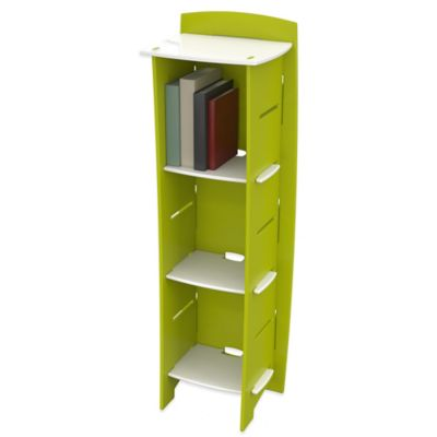 Legare® Frog Tool-Free 6-Shelf Bookcase in Lime