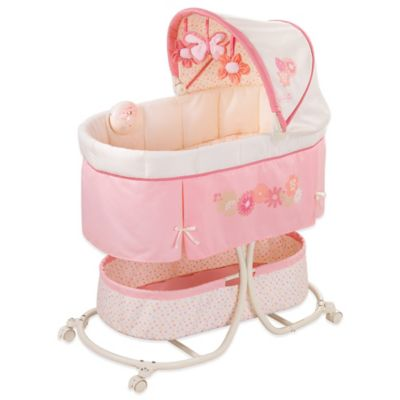 Pink Bassinet Fitted Sheet