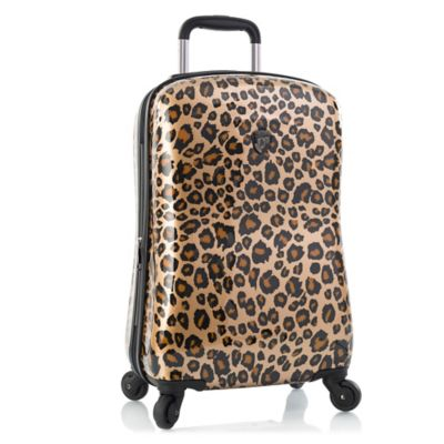 Heys® Exotic Leopard Fashion 21-Inch Expandable Hardside Spinner