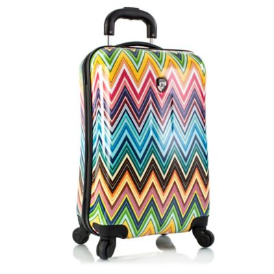 Heys® Color Herringbone Fashion 21-Inch Upright Spinner