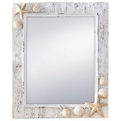 Prinz Sand Piper 11-Inch x 13-Inch Rectangular Mirror
