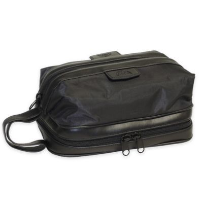 Dopp Nylon Zip-Bottom Travel Kit