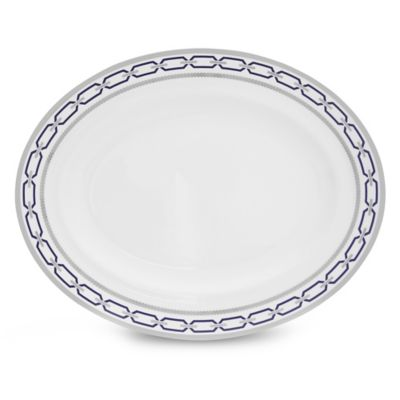 Vera Wang Wedgwood® With Love Nouveau Indigo Oval Platter