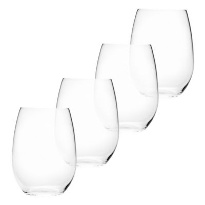 Mikasa® Laura Stemless Wine Glass (Set of 4)