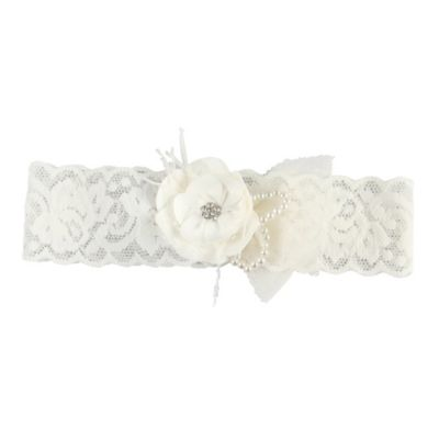 Ivy Lane Design™ Bianca Large Garter in Ivory