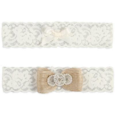 Ivy Lane Design™ Savannah Large Garter in Ivory