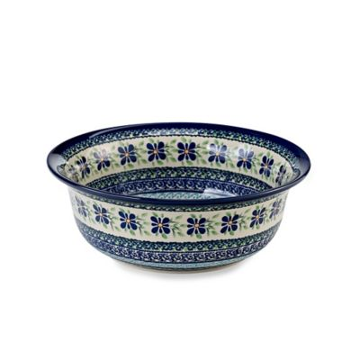 Cadmium-Free Serving Bowl