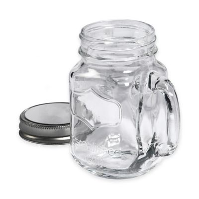 Clear Glass Mugs with Handles