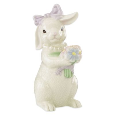 Lenox® Bunny Girl with Flowers Figurine