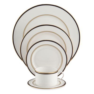 Library Lane Navy™ 5-Piece Place Setting