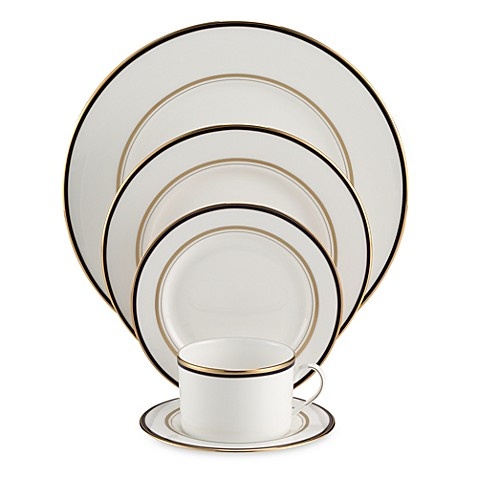 kate spade new york Library Lane Navy™ Dinnerware